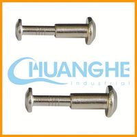 Low price wholesale!galvanized hex socket solid rivets