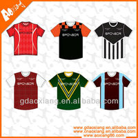 Best quality hot sell soccer jersey for association and school