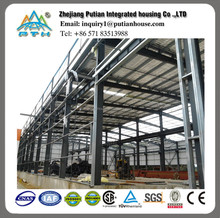 professional modern prefabricated steel structure factory