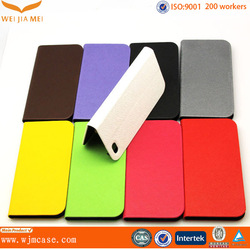 2015 Hot sale Product Genuine Flip Leather Case for iPhone 6s