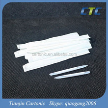 Top Grade Most Popular White Hollow Plastic Toothpick