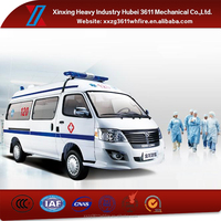 China Manufacturer Hot Sale Emergency Rescue Mobile Ambulance