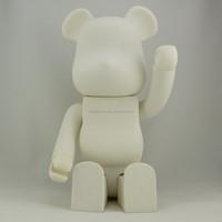 1000% bear brick wholesale vinyl toys,big size bear brick custom pvc vinyl toy, huge size vinyl toys wholesale