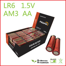 LR6 AA 1.5v super alkaline battery