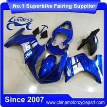 FFKSU020 Fairings For Motorcycle For SV650 2003-2008 Blue White