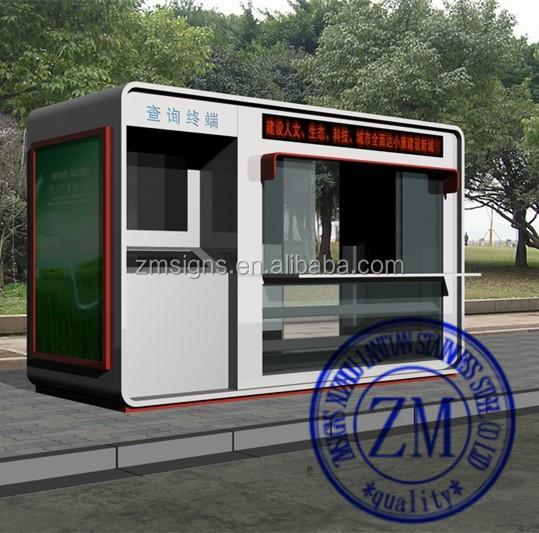 Outdoor payment kiosk design prices buy payment kiosk for Garden kiosk designs