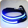 Hot Sell 1 Inch Glowing in Dark Wholesale Puppy Leash with Battery