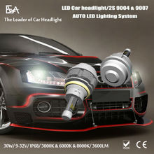 2015 Auto Parts Car Led Headlight 3600LM each lamp H4 H7 9005 9006 H8 H11 9004-9007 D(1-4)R/S all Available