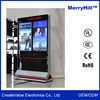 Touch Screen LCD Display Manufacturer 65 inch Internet Kiosk Digital Signage Totem