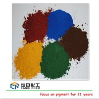 fine powder fe2o3 orange blue green red iron oxide for cement colouring
