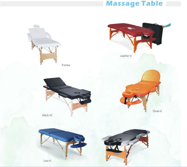 Sex on a massage table