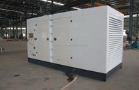 Water cooling AC 3 phase brushless open industrial diesel generator set international standard