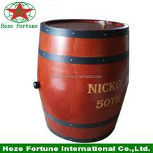 Top quality norma europeia 30 litros de madeira barril de vinho