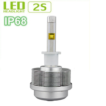 New products White/Amber/Pink/Blue colors car h3 led headlight bulbs