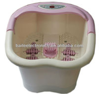 China electric water bubble function women foot tub JLK-9518A