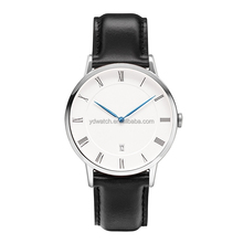 japanese miyota movement stainless steel man fashion roman daniel wellington watch dw leather strap watches