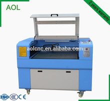 AOL 6090 high performance and low cost laser engraving cutting machine