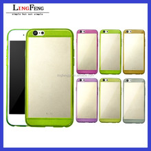 2015 Best Selling Colorful 0.3MM Ultra Thin tpu case for iphone 6 plus ,TPU Case Silicone Soft Cover for iphone 6 plus