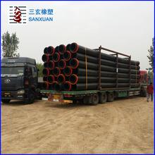 HDPE pipe 14.5inch 400mm diameter 15-17mm thickness PN8 PN10 big plastic pipes flexible drain pipe
