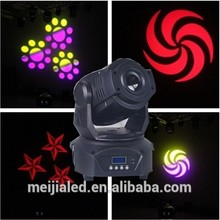 pro gobo 75w spot led dmx moving head controller
