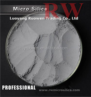 Densified microsilica fume for improving properties of hardened concrete