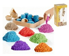 Red color Educational Trendy toys soft kinetic sand waba fun magic sand, motion sand for kids ORIGINAL PACKAGE