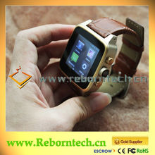 2014 hot sell waterproof bluetooth wrist watch for men