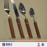 2015 Kitchen knife Holder/Transparent Acrylic Knife Rack/Acrylic Block Knife Set Rack