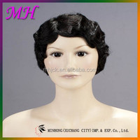 Best Selling Star Old Fashion Finger Wave Wig Cheap price high quality