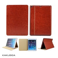 H&H 2015 best luxury pu leather cover case for ipad air