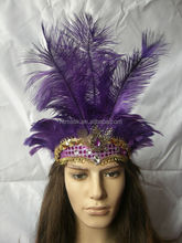 Fashion Carnival Party Fancy dress Indian Feather Headdress
