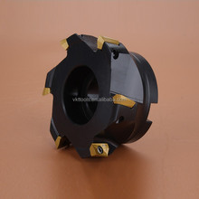 Square Face Mill Head High Precision with best price-100A06R-S90AD16E-C
