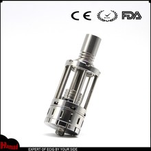 Like a machine gun atomizer tank stainless steel and glass 3ml capacity with 510 drip tips