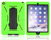 For iPad Air 2 iPad 6 rugged combo rugged case with stand