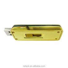 golden bar 8gb usb flash drive bulk china manufacturer