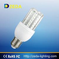 4U clear glass energy-saving tube 8W 11W led light