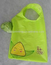 Folding polyester shopping bag