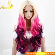 Hot Selling Factory Direct Wholesale High Temperature Fiber Synthetic Wigs Cheap Quality Cute Cosplay Wigs