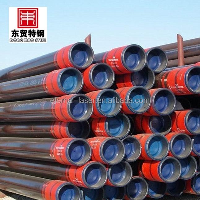 T95 embalagem do óleo de tubulação api j55 erw tubo de aço