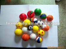 2012 new designs and sample free PU balls