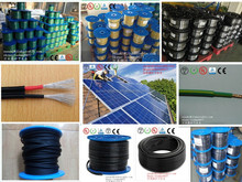 for japan/Europe/Australia for solar cell with wire solar power system 600v/1000v dc 1x6mm2 pv cable &1x10sqmm pv solar wire