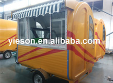 Electric tricycle vending cart Mobile Motorcycle Food Cart