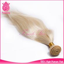 hot 613 blonde human hair weave, hair weaving remy russian blonde hair extensions