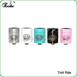 Distributors canada for 2015 1:1 clone high quality troll rda clone troll rda atomizer