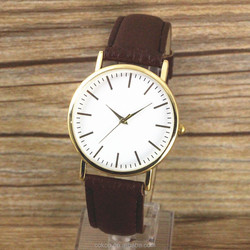 Good quality cheap wholesale simple design women watch colorful strap