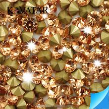 Wholesale Crystal Pointback Non Hotfix Rhinestone