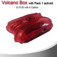 2015 Latest Version Volcano Box with Pack 1 Actived 32pcs with 4 Cable China