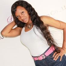 Homeage top selling original natural looking brazilian human hair for black women