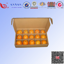 Fruits packaging inserts paper box for delivery 0n hot sales 2015 paper box manufacture