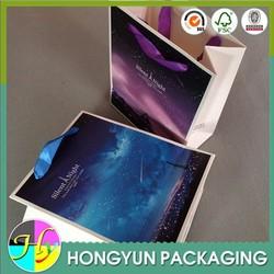 eco-friendly beautiful design popular shopping paper bag